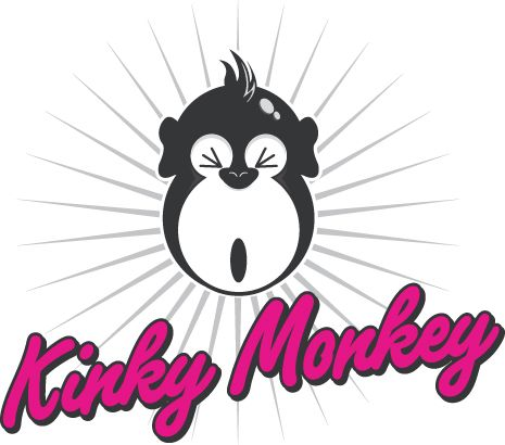 Kinky monkey logo - links to homepage